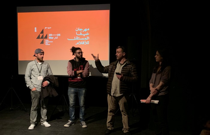 دار الكلمة الجامعية تشارك في فعاليات مهرجان حيفا  للأفلام