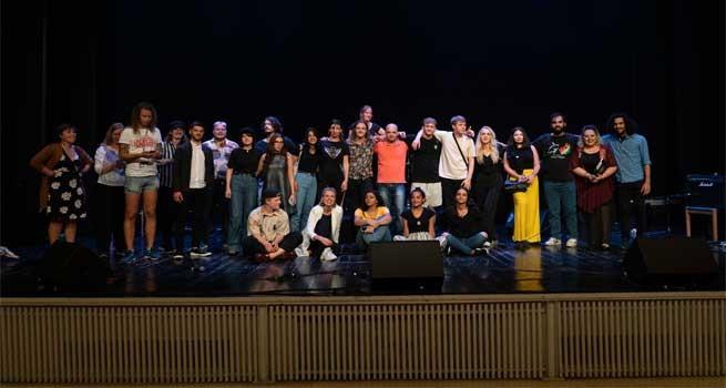 اختتام فعاليات مهرجان دندنات للموسيقى والرقص الرابع عشر