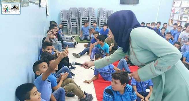 شبكة ديار المدنية الثقافية تختم لقاءات تثقيفية في مدارس الدهيشة