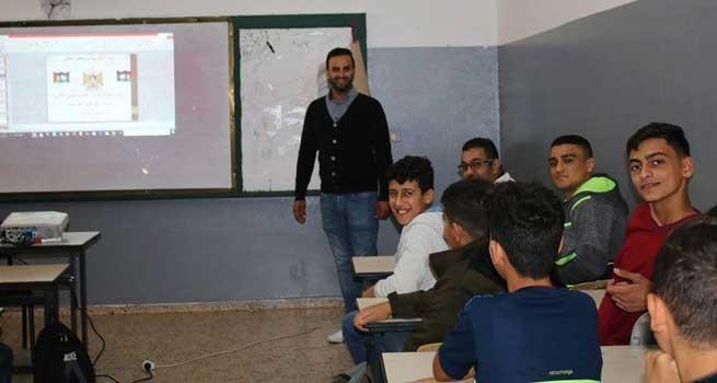 شبكة ديار المدنية الثقافية تشارك في أنشطة تثقيفية لطلبة المدارس في محافظة جنين
