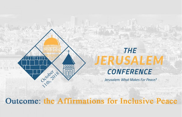 Affirmation for an Inclusive Jerusalem