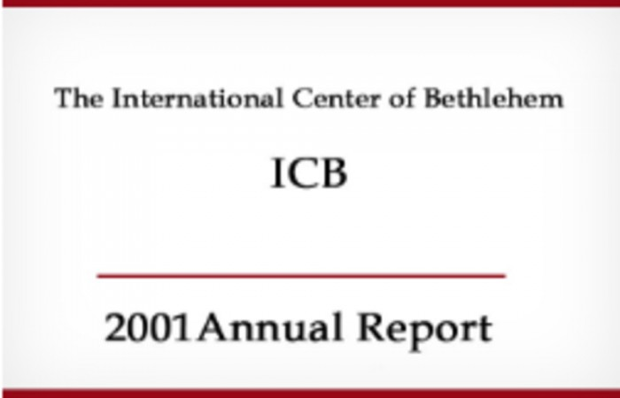 التقرير السنوي لعام 2001